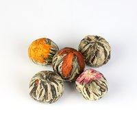 Цветущий вкус ручной работы чай красивые цветочные чайные шарики из Fujian China