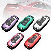 Список брелок Стильный 3 + 1 Кнопка автомобиля Удаленный ключ Защитный чехол для защиты FOB для корпуса Escort Shell