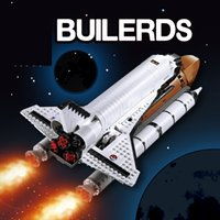 1230PCS 16014 Space Shuttle Expedition Model Building Kits Set Blocks Bricks 83014 Toys For Children Birthday Gifts