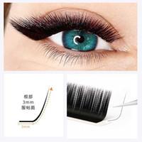 False Eyelashes L L+ LC LD LU M Curl Mink Extension,16rows tray Mix MaBlack Individual Eyelashes,N l Makeup Lashes