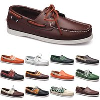 men casual shoes loafers fabric leather sneakers bottom low cut classic triple black red dress shoe mens trainer
