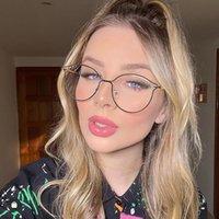 Cadre de lunettes d'ordinateur de mode pour femmes pour femmes anti-bleue Blocage de lumière Lecture Femme Brand Optique Girls Lunettes de soleil