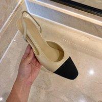 Probow Genuine Cuero Slingbacks Bombas zapatos de mujer sexy zapatos de tacón alto remiendo zapatos de mujer boda fiesta