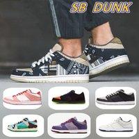 SB Dunk Running Shoes Chunky Dunky Casual Freddy Krueger Votech Panda Pigeon LX Lienzo Blanco Gris Escabetchers Menual y Mujeres Tamaño de las zapatillas US5-US12 EUR36-46 con la mitad