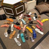 2021 Son Klasik Bayan Sandalet Yaz Luxueux Rahat Terlik Flip Floplar Plaj Ayakkabı Boyutu 35-42