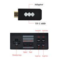 Portable Game Players 4K HD Video Console Built In 620 818 Retro Wireless Controller AV HD Output Mini Box