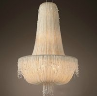 Jellyfish drop light french country white unique foyer lantern chandelier suspended kitchen fixtures