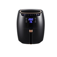6.5L Air Fryer Household Electric Deep Fryer Oven Pizza Chicken French Fries Cooker 360°Baking Touch Screen Panel