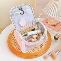 Storage Bags Toiletry Bag Transparent Waterproof Cosmetic Zippered Makeup Pouch For Vacation
