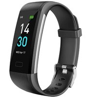 B0897SLPMN Black Smart Electronics Bransoletka Akcesoria sportowe Tracker Monitory Sportowe Wristband Walls Walling Sleep Hali Tętno Monitoruj swój dzienny poziom fitness