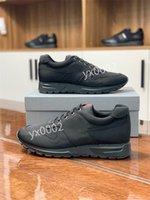 Классические мужчины женщины альпинисты кроссовки в ткани реальная кожа резиновые одиночные роскоши дизайнерские туфли Size38-46