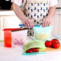 Saco de preservação de alimentos de silicone sacos de vácuo sacos de armazenamento de alimentos recipiente de armazenamento de alimentos para cozinha Saco fresco GGA3250