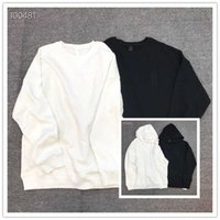 Genuine Chao brand cross shaped crow heart dark pattern embroidery hooded long sleeve men's and women's loose round neck sweater casual coat