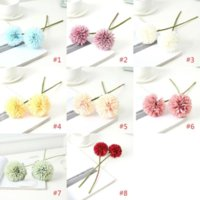 造花卓球菊の家の装飾花タンポポの結婚式の装飾配置花人工デイジーBT