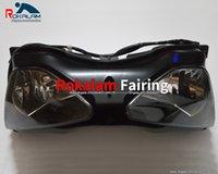 Vendas quentes, farol da frente da motocicleta para Kawasaki Ninja ZX6R 2003 2004 ZX-6R ZX636 03 04 ZX-6R ZX 63 6R Cabeça de cabeça