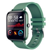 2021 Willgallop P6 Bluetooth Call Smart Watch Full Touch Blood Pressure Monitor Men Women Fitness Tracker Smartwatch For Android/Ios