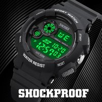 Наручные часы Skmei 1718 Мужские Спортивные Спортивные Цифровые Часы Простые Chrono Часы 12/24 Часа Светодиодные Часы Часы Reloj Hombre