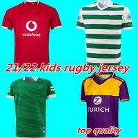 21 22 Limerick Wexford GAA Kids Gedenken Jersey 2021 2022 Britische Löwen Irland Training Rugby Kinder Trikots Größe 16-26