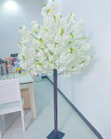 180 CM Tall Artificial Flower Cherry Blossom Tree White Home Decor Fake Plant For Wedding Stage Decoration