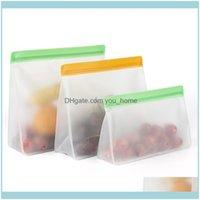 تنظيم التدبير المنزلي الصفحة الرئيسية GardenFood تخزين حاويات PEVA مجموعة الوقوف حقائب جديدة البريدي SILE قابلة لإعادة الاستخدام الغداء الفاكهة