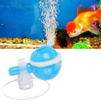 Air Pumps & Accessories Aquarium Stone Replacement With Suction Cups Bubble Diffuser Rotating Type Adjustable Oxygen For Fish Tank Hydroponi
