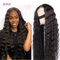Lace Wigs Loose Deep Wave Front Human Hair For Women 13X4 Frontal Wig Brazilian Closure 4X4