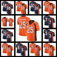 1 Patrick Satain II 58 von Miller Jerseys DenverBroncosFußball 10 Jerry Jeudy 18 Peyton Manning 3 Drew Lock Melvin Gordon III 25 Javonte Williams Bradley Chubb