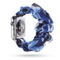 Scrunchie apple watch band reloj inteligente 44mm 40mm women belt iwatch bracelet apple watch strap series 5 4 3 iwatch band 38mm 42mm