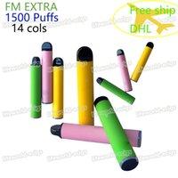 100% Original Disposable Vape Pen 1500 Puffs Kits 850mAh Battery Pre-Filled 5ml Pods Cartridges Vapors Device E-Cigs Vaporizers vs ryse puff xxl Plus Bar Bang pro