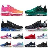 Nike Air Vapormax nike vapormax Neue Top-Qualität Tn Plus-Damen Herren Laufschuhe Plus-Tn Spannung Lila, Gelb, Hellblau Sommer Trainer Männer Turnschuhe 36-45