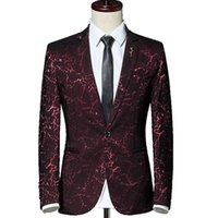 Men's Suits & Blazers casual business jacket, fine print tight formal , s-5xl large coat, in 2021