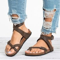 Adisputent 2020 캐주얼 신발 여성 샌들 플랫 비치 신발 플립 플롭 숙녀 샌들 여름 여성 Chaussures Femme U7Z8 #