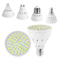 Lampor Tsleen Super Bright GU10 GU10 LED Glödlampa MR16 E14 Lamp Spotlight 4W 6W 8W 220V 240V 2835 SMD E27 Lampada Candle Luz