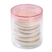 Éponges, applicateurs coton rond loofah sponge lavage exfoliant maquillage maquillage baignoire baignoire frotter tranches de bœuf douche tampon gant nettoyer naturel naturel