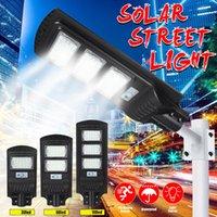 30W 60W 90W Solar Street Light Radar Motion Sensor Waterproof IP67 Wall Lamp Outdoor Landscape Garden Light with Pole