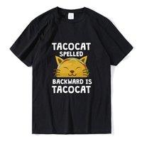 Men's T-Shirts Tacocat Spelled Backwards Is Shirt Gift Design Men Top Summer Tees Cotton Funny Unisex Short Sleeve Tee