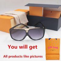 1PCS 패션 라운드 선글라스 안경 태양 안경 디자이너 브랜드 블랙 금속 프레임 어두운 50mm 유리 렌즈 Mens Womens 더 나은 갈색 경우에 대 한