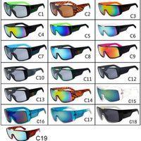 نظارات شمسية للإطار الكبير للرجال نساء نساء من قطعة واحدة بارد ركوب الدراجات نظارات الشمس في أستراليا ونا uv400 انبهار لون نظارات رياضية في الهواء الطلق