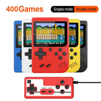 Portable Game Players 3 Inch Handheld Consoles 400 IN 1 Retro Video Console 8 Bit Player Gamepads For Kids Gift