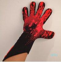2020 New Goalkeeper Gloves Wrapped wrist strap Professional Soccer Gloves Anti-slip Gloves-latex plam Sports Gloves AD1