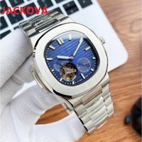 High quality fashion mens square designer watch Mechanical automatic 904L Stainless steel bracelet waterproof Wristwatch