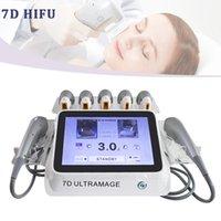 HIFU مواجهة تشكيل آلة تشكيل مع 7 خراطيش العلاج 7D للتجاعيد مزيل المضادة للتجاعيد الجسم التخسيس الجسم التخسيس جهاز الجمال