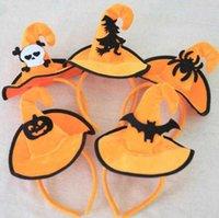 NOUVEAU Bandeau Halloween Coiffe de coiffe de coiffe pour enfants Girl Partie adulte enfant Capuchon Coipkin Hair Spider Skull