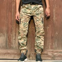 Herrenhose FRALU Marke Taktische Jogger Männer Streetwear US Army Military Camouflage Frachtarbeit Hose Urban Casual