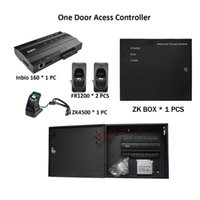 Fingerprint Access Control ZK Inbio160 TCP IP Wiegand Board 1 Doors RS485 Card Reader Entry System Smart Home Entrance Kits