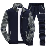 Men's Tracksuits 2021 Selling Cotopaxi Brand Men Classic Style Spring Autumn Comfortable Camouflage Printed Delicate Hip Hop Suit