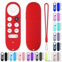 Smart Home Control For -Google TV 2021 Voice Remote Silicone Case Schutzhülle Hautschutz Stoßfest D22 20