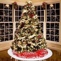 شجرة عيد الميلاد تنورة حزب عيد الميلاد الأشجار أسفل الديكور الفانيلا المئزر التنانير مهرجان لوازم RRD11120
