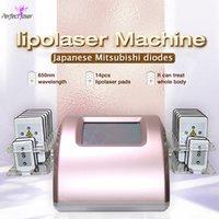 Preço de fábrica laser laser corpo emagrecimento 102 máquina mitsubishi japão diodo lipolaser perda de peso não invasivo
