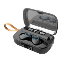 TWS Bluetooth 5.1 Wireless Headphones Earphones Stereo Sport Waterproof Touch Control Earphone Headset Digital Earbuds Display With Breathing Light